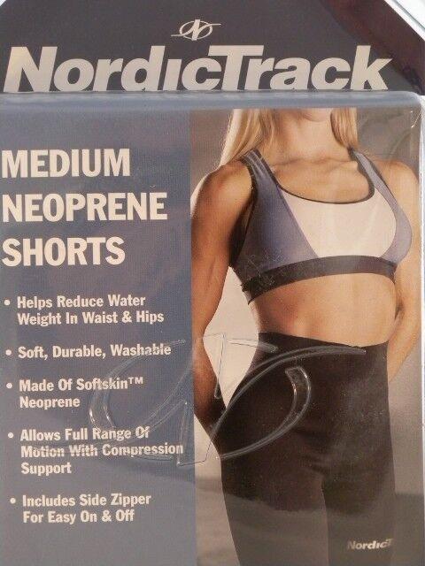 Nordictrack Neoprene Shorts Size Medium