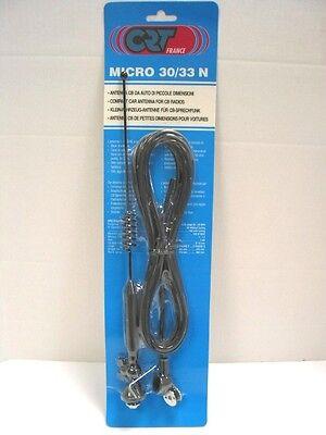 Antenne Mobile Poste Cb Orientable 30cm 26-28 Mhz