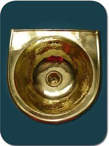 Lave main vasque cuivre jaune salle de bain marocaine - Salle de bain tendance ...