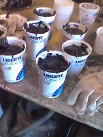1 litter rubberized brush grade tar $ 5