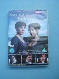 DVD Sense & Sensibility BBC TV Series 2008 Jane Austen