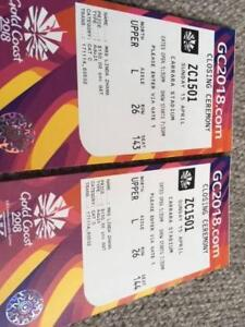 Commonwealth Games - Closing Ceremony  - only one ticket left South Brisbane Brisbane South West Preview