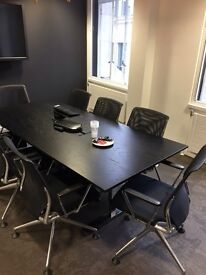 Stunning Designer Vitra Table and 8 Chairs