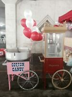 Wedding Full Service Cotton Candy / Popcorn and much much more