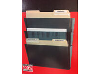 A4 Wall Mounted Files 3 Pockets Document Office Organizer