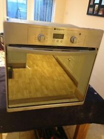 Built in Hotpoint oven