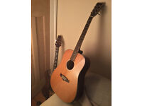 Tanglewood Evolution TW28 CSG Dreadnought Acoustic Guitar – Solid Cedar Natural Gloss