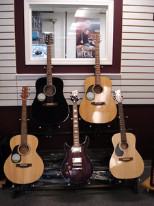 Lefty Guitars & Ukuleles