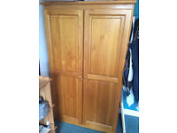 Pine Wardrobe - Montpelier FAB CONDITION
