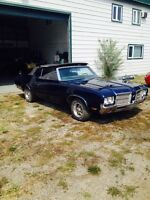 1971 Cutlass convertible CHASSIS for sale