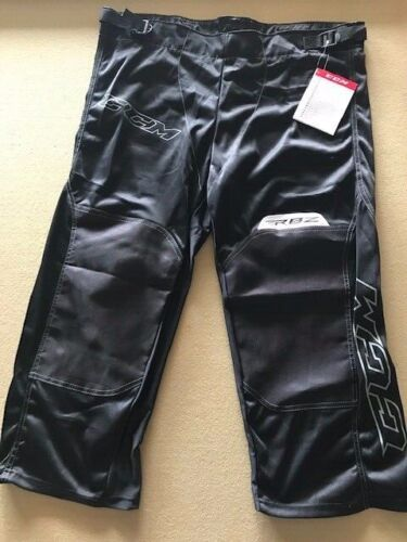New! CCM RBZ RHP110 Black JR-L Junior Large Roller Hockey Pants New!