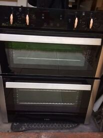 Double oven built under, 18months old