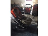 Jane trider buggy and full Travel system
