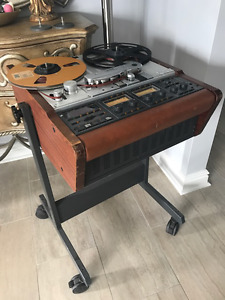 Studer A807 reel to reel recorder