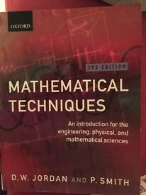 Mathematical Techniques, Jordan and Smith 3rd Edition
