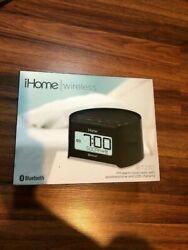 iHome Bluetooth *IBT230* FM alarm clock radio/speaker phone/USB charging - NEW