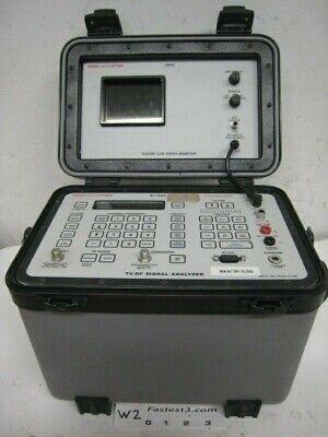 Sencore Sl750a Tv-rf Signal Analyzer With Vm4s Lcd Video Monitor