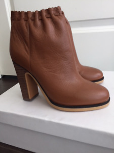 Women's BRAND NEW leather boots_designer_PRICE DROP