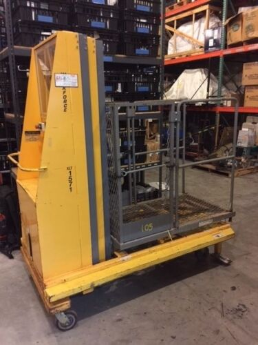 BilJax XLT-1571DC Man lift 21