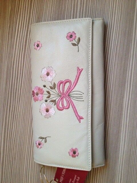 Real Leather Past Times Jewellery Roll & Bookmark