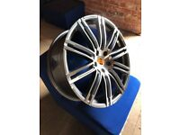 """Porsche Cayenne Style Alloy Wheels 22"""" - Brand New Boxed - Set Of 4"""