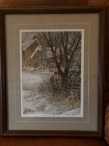 Doug Laird ltd edition signed numbered print - Someone Special