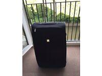 TRIPP black 2 wheel soft medium suitcase