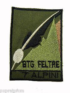 Patch esercito italiano 7 alpini btg feltre per mimetica for Finestra 4 tolmezzo
