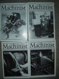 Machinist and Woodworking books