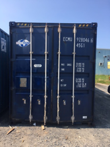 Used 20' and 40' HC containers