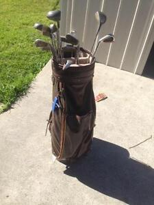 left handed Golf clubs in carrier Georgetown Newcastle Area Preview