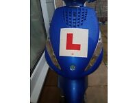 PIAGGIO ZIP BLUE TAXED AND MOT READY TO DRIVE BACK HOME
