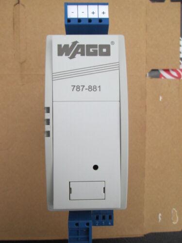 Wago 787-881 Uninterruptable Power Supply LN!