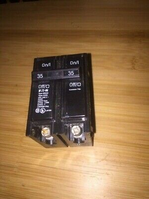 Cutler Hammer Br235 Breaker 2 Pole 35a 240v New