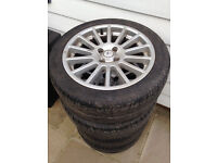 Fox Racing 17'' Alloy Wheels with Tyres