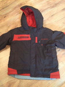 Columbia Toddler Snowsuit - Size 24 months & SOREL BOOTS
