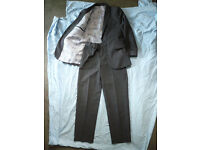 'Reduced' Marks and Spencer Boys Suit, 2 Piece Age 8-9