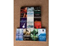 Ruth Rendell detective books