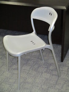 Large Qty of Stacking Chairs-Metal Frame Plastic Seat & Back Peterborough Peterborough Area image 2