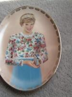 Diana  a true princess plate , lady Diana cup .books ,