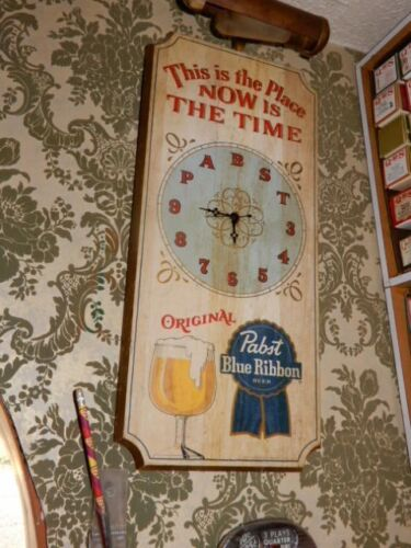 Pabst Blue Ribbon Beer Clock