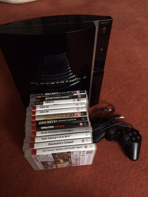 PlayStation3 c/w 13 Games