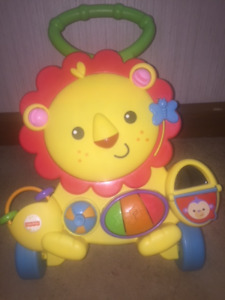 Fisher Price Walker Musical lion