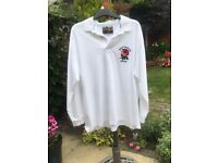 ENGLAND 2003 COTTON TRADERS WORLD CHAMPIONS LONG SLEEVE RUGBY SHIRT