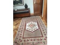 Tunis Natural Wool Woven Rug
