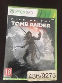RISE OF THE TOMB RAIDER FOR XBOX 360 (BRAND NEW - UNOPENED)