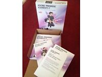 Adobe Premier 7 Video Editing Software, Youtube etc Boxed