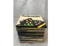 "£45 o.n.o - 81 Retro/Vintage 12"" Vinyl Albums & Singles - Good Condition"