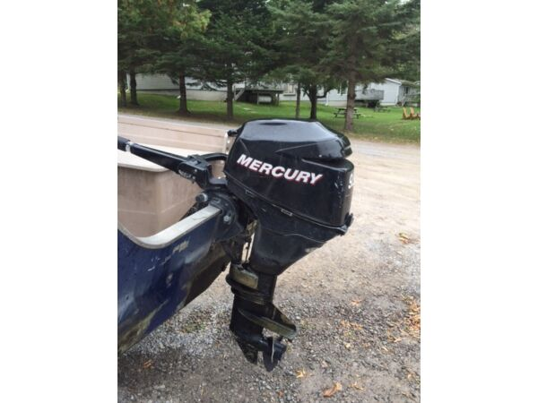 Used 2005 Mercury 9.9 hp 4 stroke