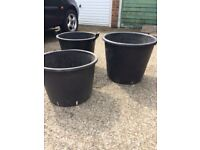 Very large garden containers